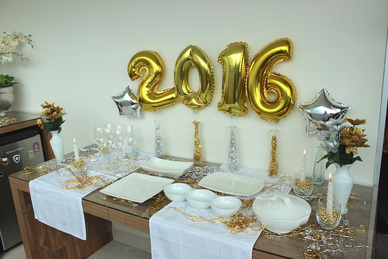 Decoraç u00e3o de ano novo e menu para a ceia Réveillon Vida de Casada
